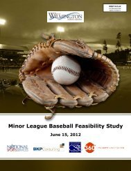 Minor League Baseball Feasibility Study - City of Wilmington