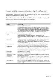 Kleines HRV-Lexikon - über Herzratenvariabilität