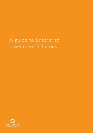 A guide to Enterprise Investment Schemes - Cockburn Lucas
