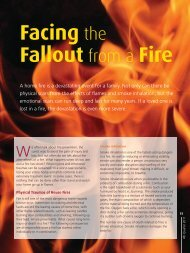Facing the Fallout from a Fire - Saudi Aramco