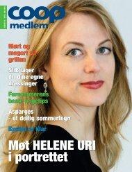 Møt HELENE URI i portrettet - Coop