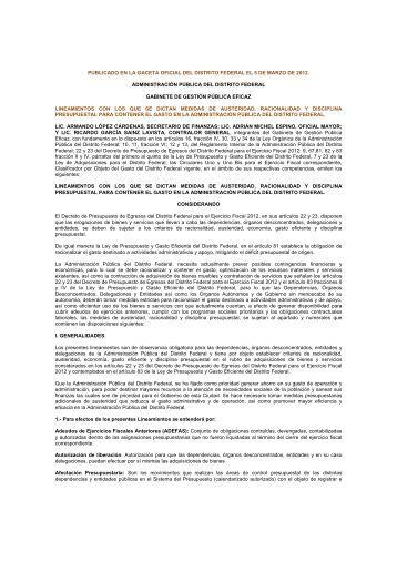 documento - Contraloría General - Gobierno del Distrito Federal