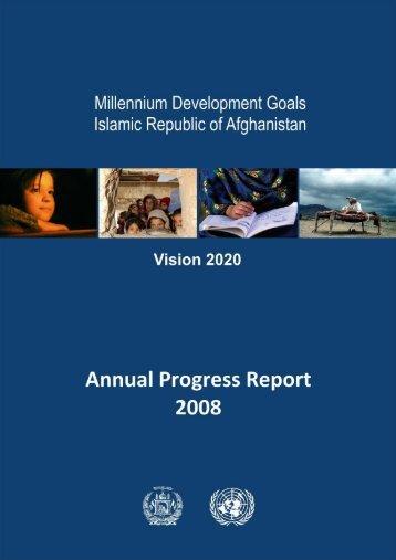 Millennium Development Goals – Annual ... - UNDP Afghanistan!