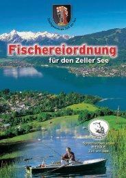 fischereiordnung 2011.indd - FC Renke Zell am See
