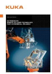 ks roboscan remote 3d laser technology. fast ... - KUKA Systems