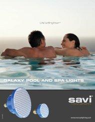 GALAXY POOL AND SPA LIGHTS - INYOPools.com
