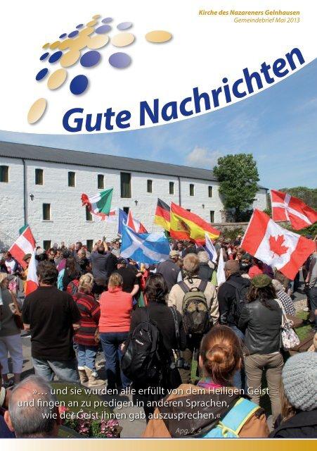 Gute Nachrichten Mai (PDF) - Kirche des Nazareners