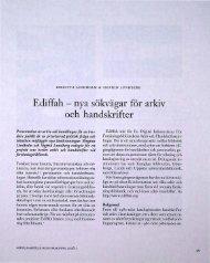 Ediffah - nya sökvägar för arkiv och handskrifter - Visa filer