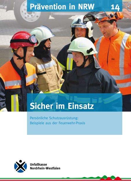 Sicher im Einsatz - Unfallkasse NRW