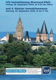 IVD-Immobilientag Rheinland-Pfalz