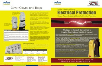 Marigold Insulated Gloves - Dixie Construction Products