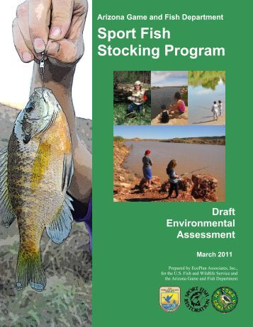 Internship opportunities with arizona game and fish department for Az game fish