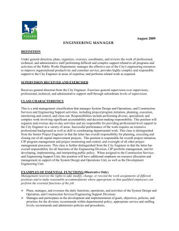 Job Description Utility Billing Supervisor  City Of Tigard