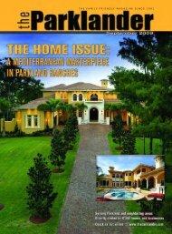 September 2009 - The Parklander Magazine