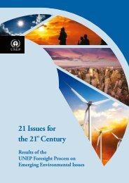 21 Issues for the 21st Century - UNEP