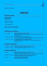 Muster_Lebenslauf 4.pdf - Albert-Ludwigs-Universität Freiburg