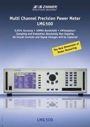 Data Sheet LMG500 - Bhumika