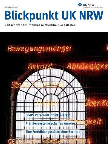 Heft 02 | Winter 2010 Blickpunkt UK NRW -  Unfallkasse NRW