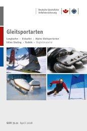 DVD Gleitsportarten GUV 71.11 - Unfallkasse NRW