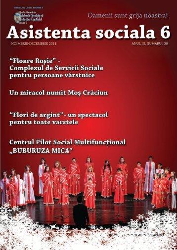 Revista DGASPC Sector 6, Numarul 38 - Noiembrie-Decembrie 2011