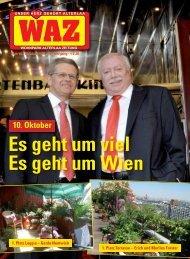 Es geht um viel Es geht um Wien