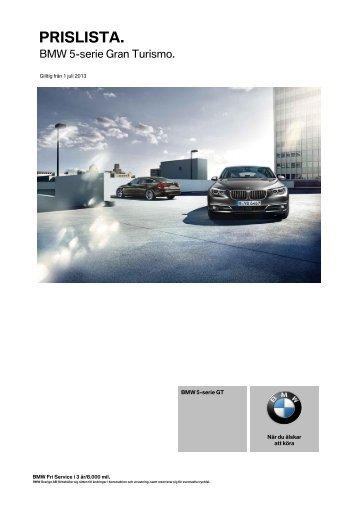 PRISLISTA. - BMW Diplomatic Sales