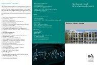 Mathematik und Wirtschaftsmathematik - Universität Augsburg