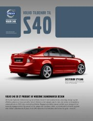 Volvo S40 tilbehørsfolder modelår 2012 (pdf)