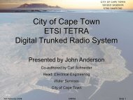 John Anderson - Digital Trunked Radio System - Disaster ...