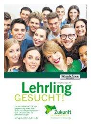 gute Chancen also für Berufseinsteiger! - Zukunft in Sachsen