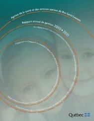 Rapport annuel 2010-2011_Version finale_Site Web - Agence de la ...