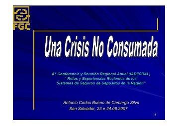 San Salvador, 23 e 24.08.2007 Antonio Carlos Bueno de Camargo ...