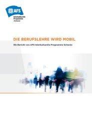 """Bericht """"Die Berufslehre wird mobil"""" - Stiftung Mercator Schweiz"""
