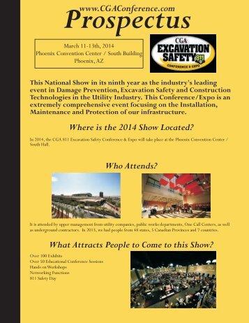 2014 Prospectus - CGA Conference & Expo