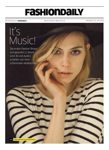 It's Music!