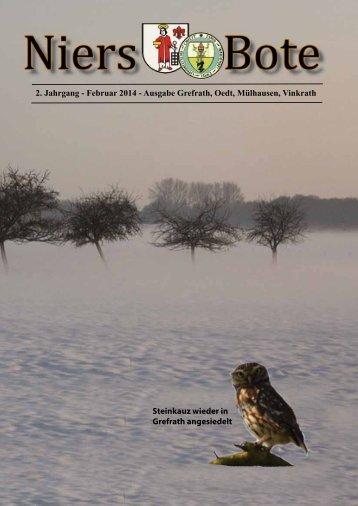 2. Jahrgang - Februar 2014 - Ausgabe Grefrath, Oedt ... - Villa Girmes