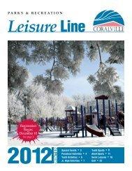 Leisure Line Winter 2011_2012.pdf - City of Coralville