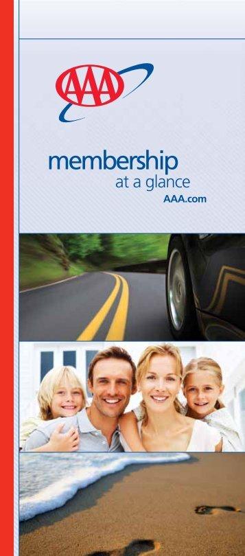 Membership At a Glance Brochure - AAA Carolinas