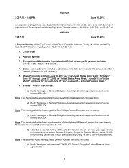 AGENDA 3:30 P.M. – 5:30 P.M. June 12, 2012 A ... - City of Coralville