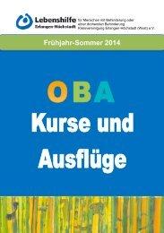 Frühjahr-Sommer 2014 - Lebenshilfe Erlangen-Höchstadt