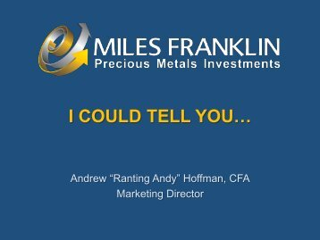 Global Economy and P... - Miles Franklin