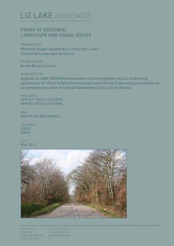 APSN_PoE_MBolger_NDC_Landscape_120522 - North Devon ...