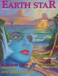 Issue #204 FEBRUARY/MARCH 2012 - Earthstar