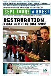 BREST SE MET AU FAST-GOOD - Sept jours à Brest