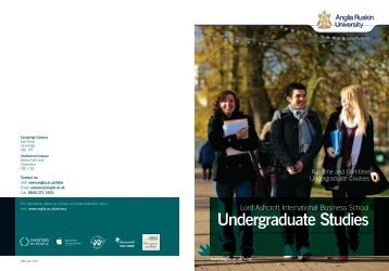 management - Study in the UK