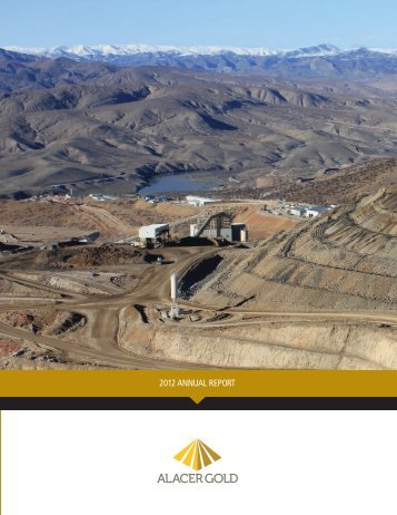 2012 ANNUAL REPORT - Alacer Gold