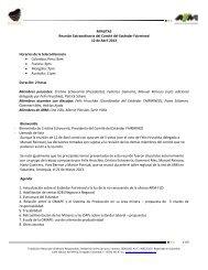 12 de Abril de 2013 - Alianza por la Minería Responsable