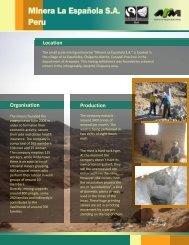 Minera La Española S.A. Peru
