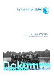 Doku Deckblatt - Fussball Lernen Global