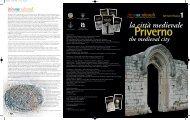 Scarica l'itinerario di Priverno - La città Medievale - Cultura Lazio